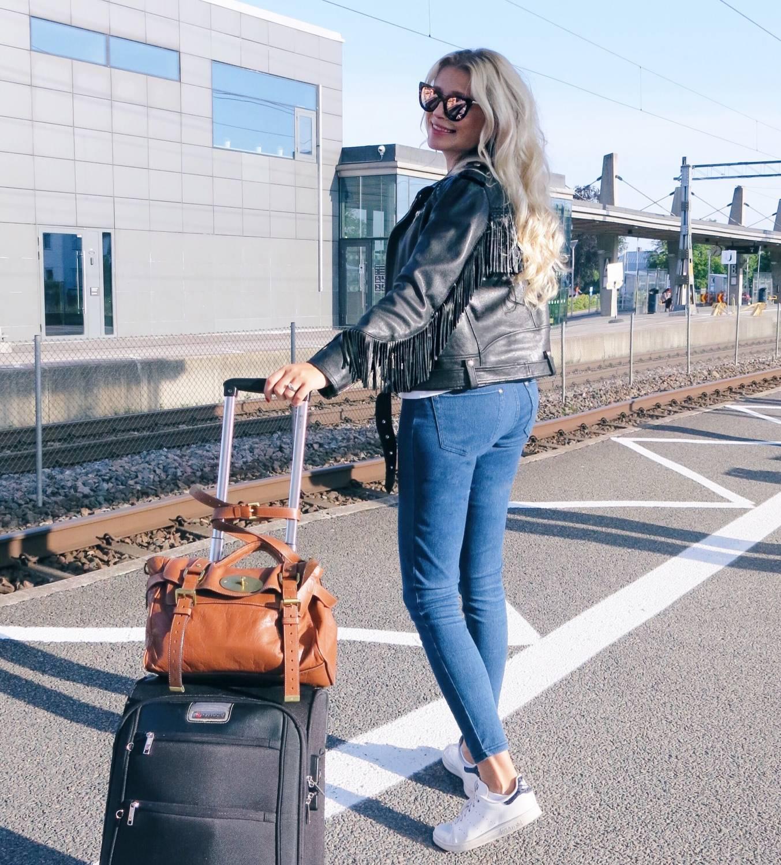Dagens outfit, Göteborg, tips, stiltips, bra kläder att resa i.