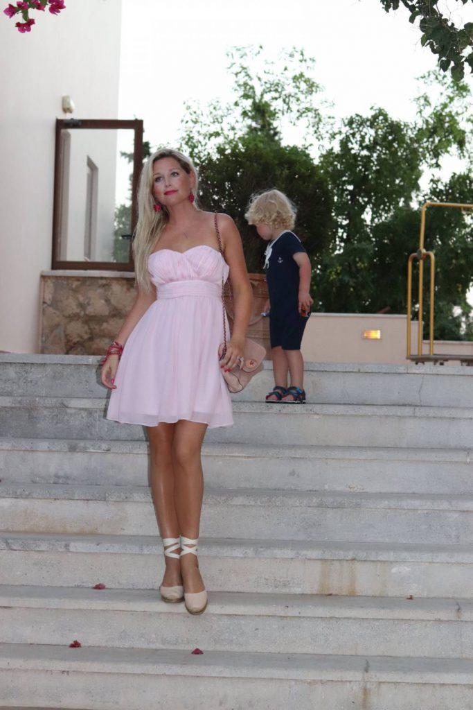 Klänning Bubbleroom, rosa, Lita Dress, Dagens Outfit.