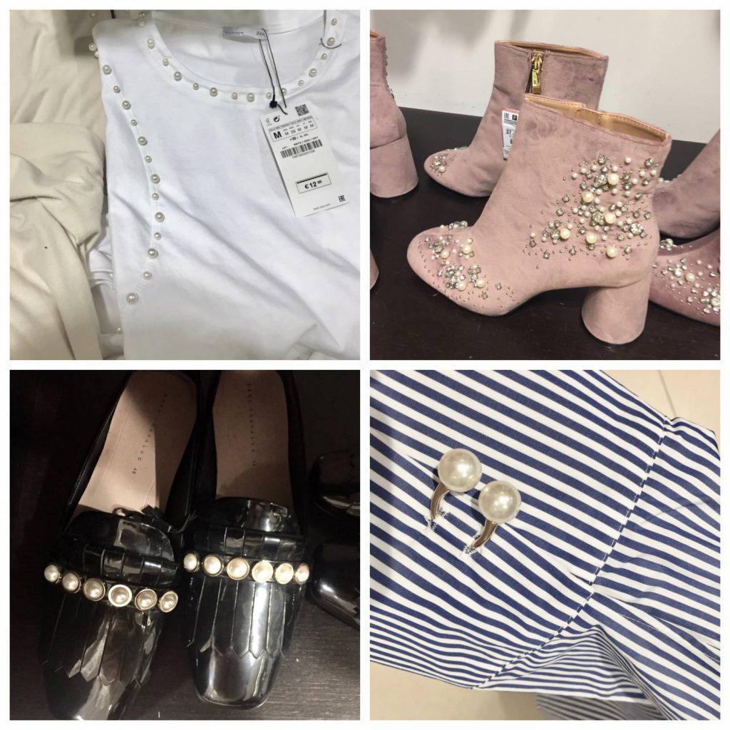 Shopping, Trendspaning i Göteborg, Modeblogg, Influencer. Pärlor