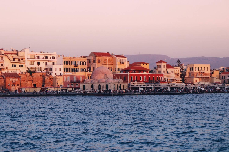 Resedagbok, reseguide, Platanias, Kreta, Grekland.