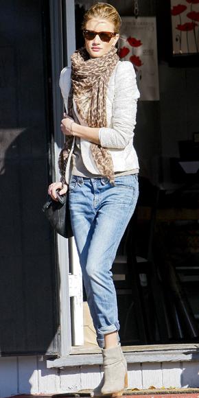 Rosie Huntington Whiteley som hon dejtar
