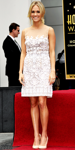 Carrie Underwood in Mandalay