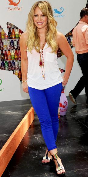 Hilary Duff in J Brand
