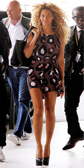 Beyonce Knowles in Christian Louboutin