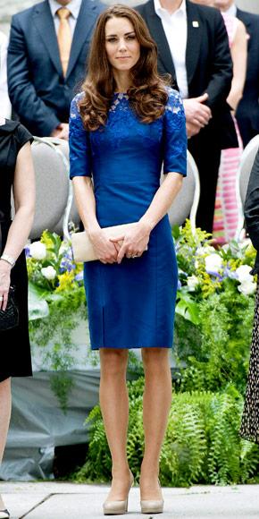 Catherine Middleton in Erdem