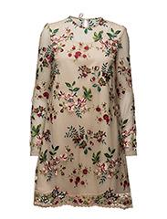 Bröllopsgäst kläder klädkod bröllop Ida Sjöstedt klänning