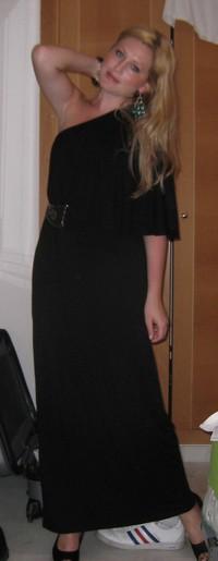 Vana Lace natt klänning svart | Fruugo Sverige