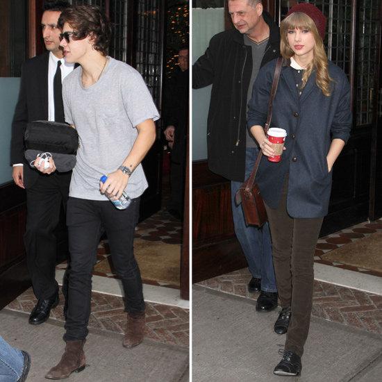 När gjorde Harry stilar och Taylor Swift första start dating