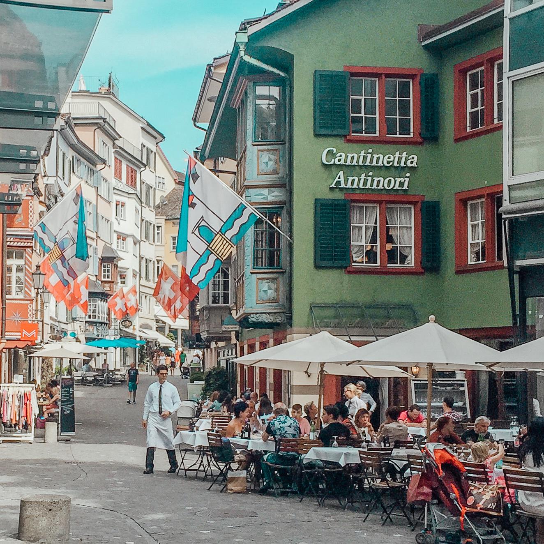 Modeblogg Reseblogg Zürich Resedagbok