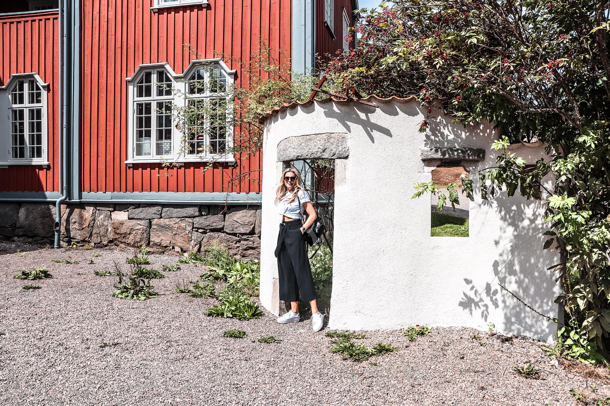 Modebloggare Göteborg, dagens outfit, byxan, Nääs Slott.