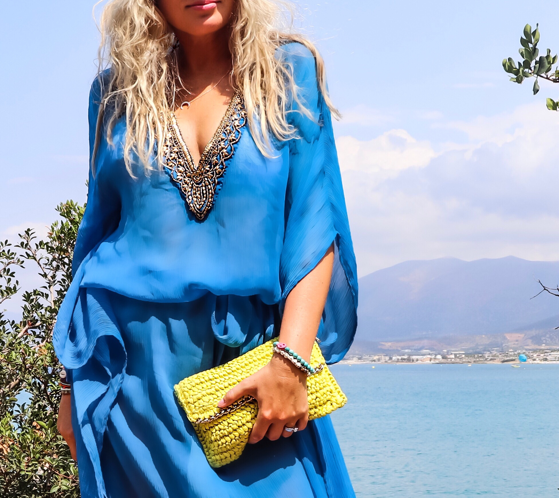 Strandtunika. Miss Tunica, Mondello, Ibiza Blue, Grekland, Reseblogg, Modeblogg.