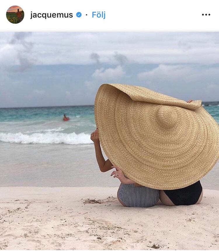 Jacquemus La Bomba Hatt Sommarens Instagramtrend