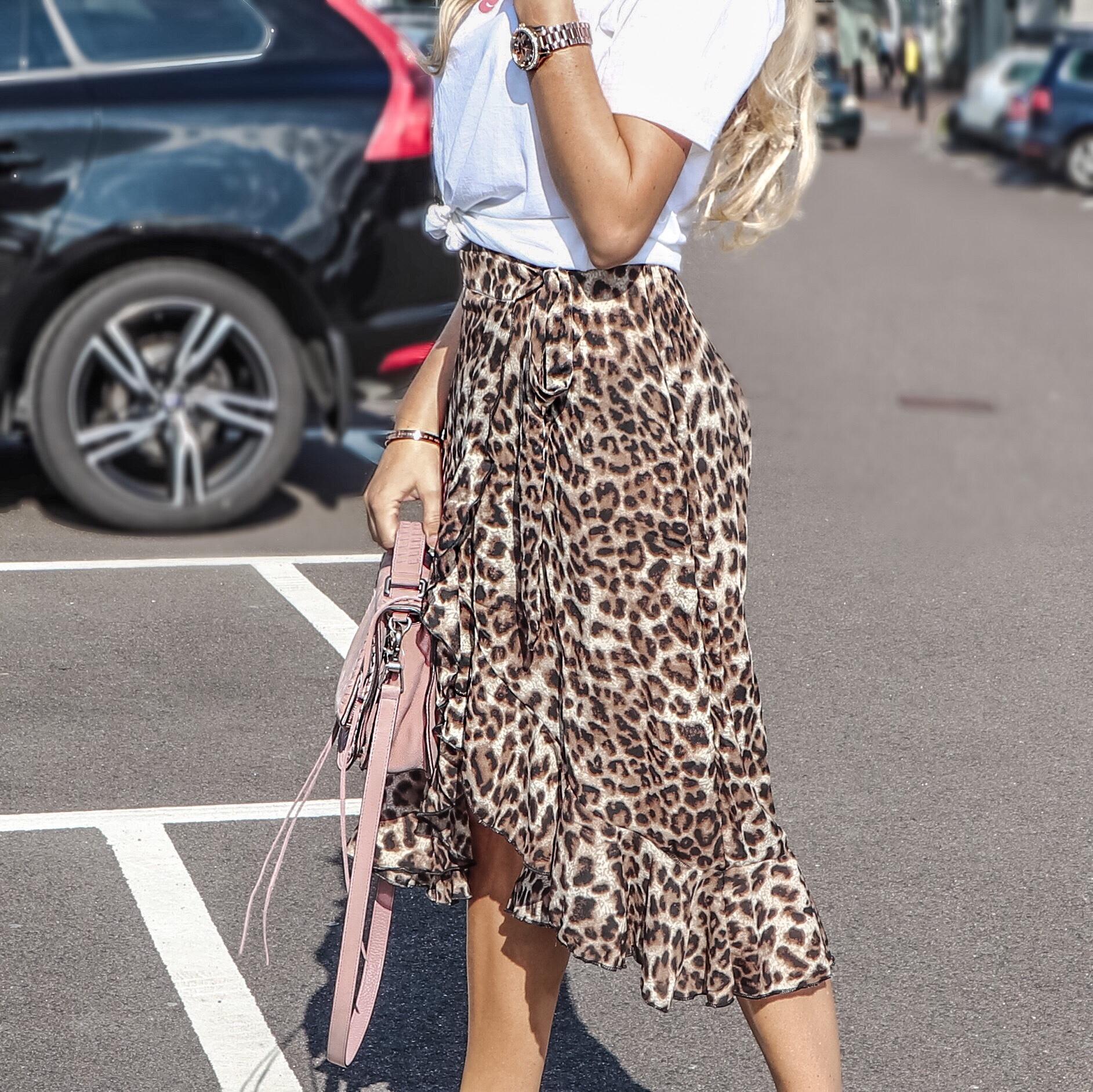 Leopardmönstrade kjolen Så Stylar Du Den! CityCatwalk