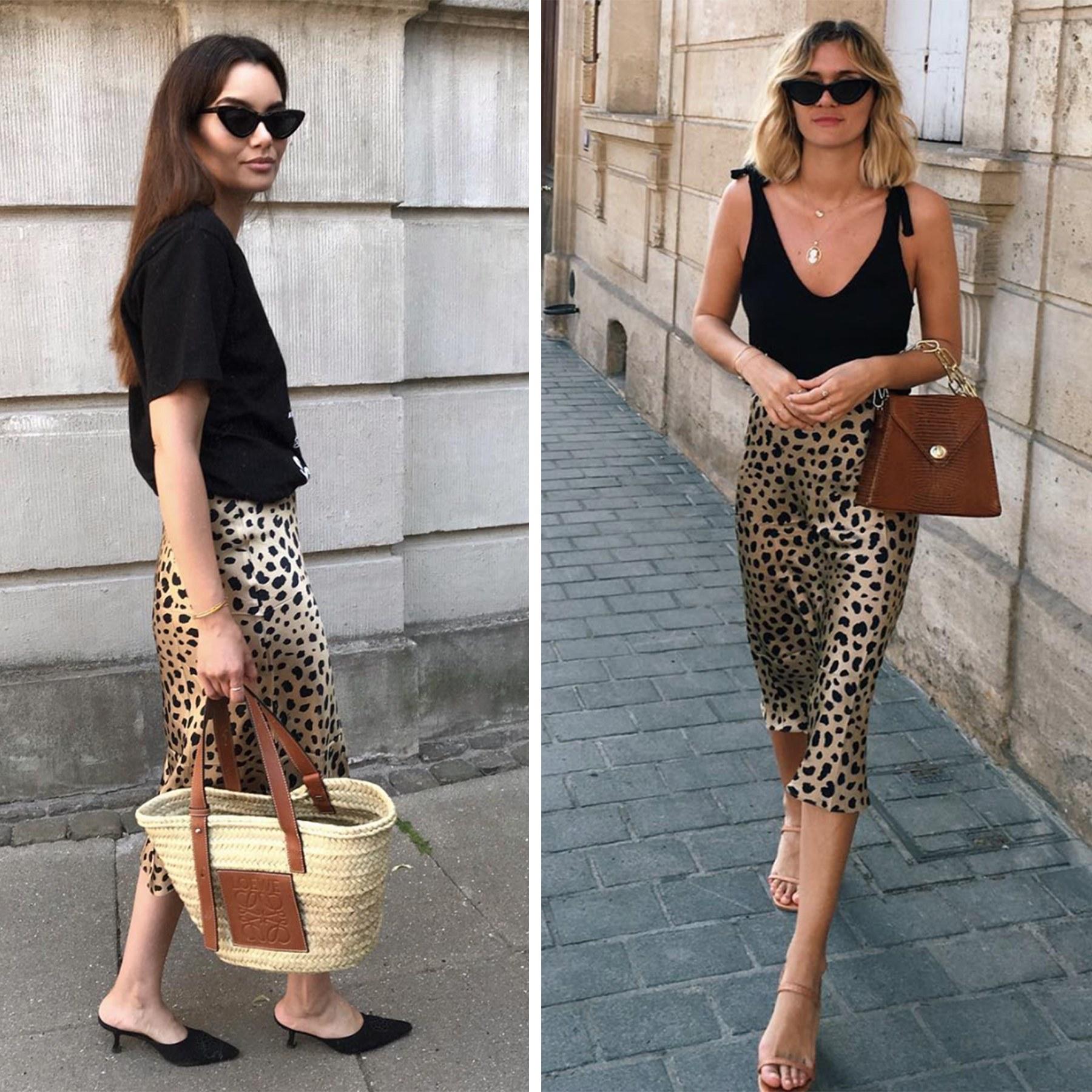 Realisation par leopard skirt kjol