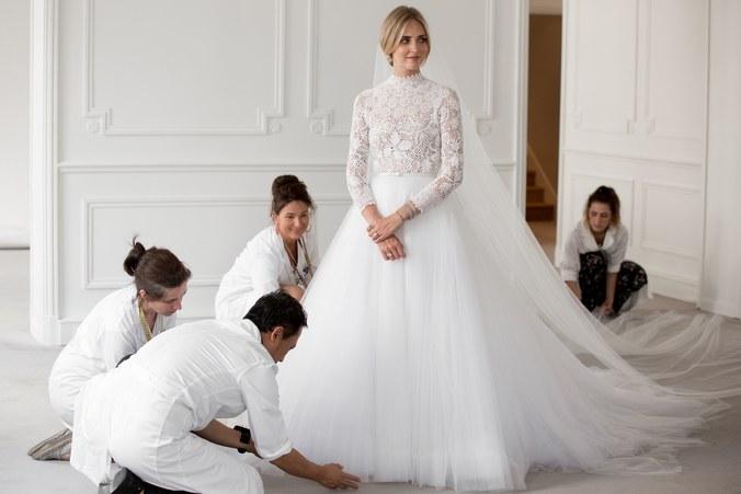 a3a485450407 ... här bröllopet som mer än något annat bröllop var gjort för att synas i  sociala medier. Det var totalt over the top och kommersiellt men ändå  väldigt ...
