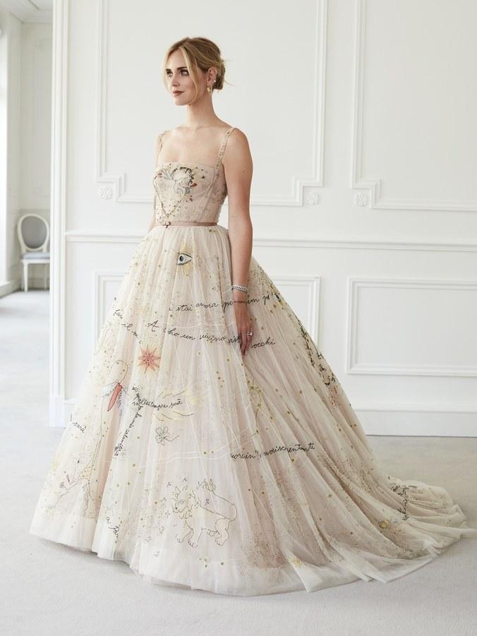 Chiara Ferragni bröllopsklänningen brudklänning wedding dress