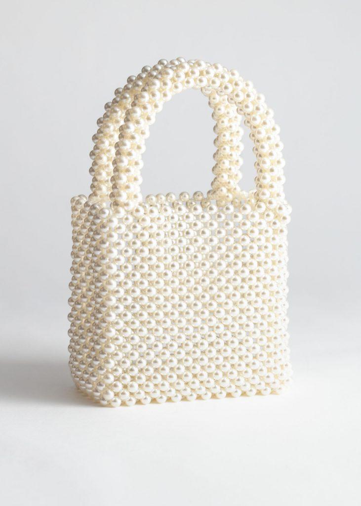 Pärlväska trend vår 2019 köpa pearl bag
