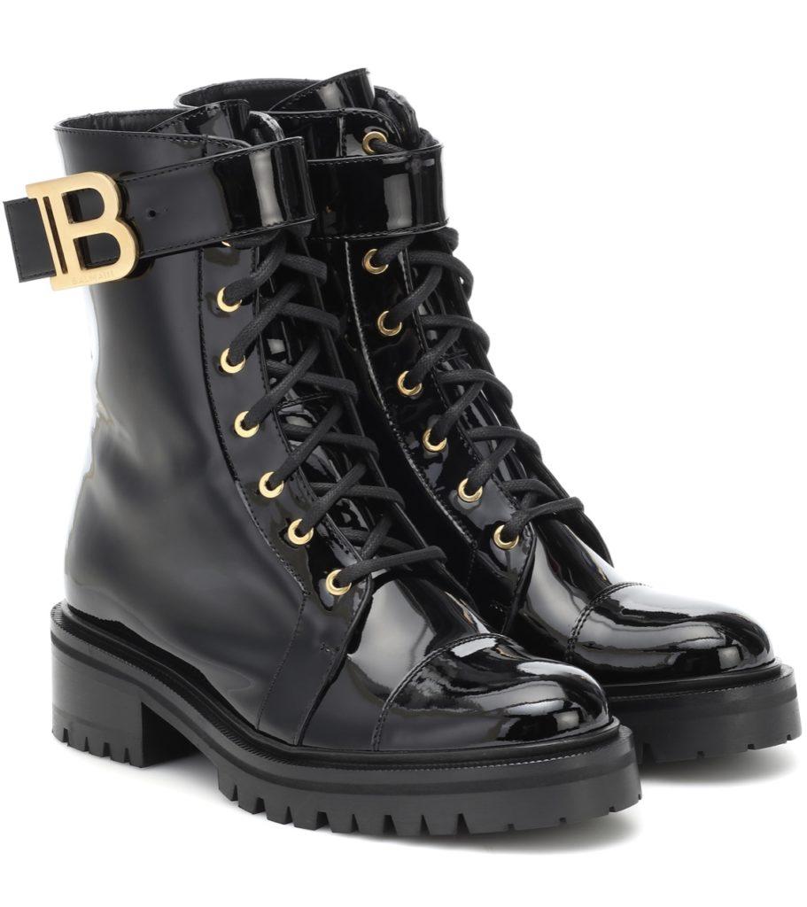 combat boots Balmain